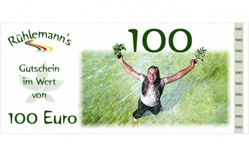 Gutschein im Wert von EURO 100,- (Gültig bis 31.12.2019)