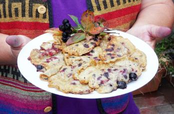 Aronia-Pfannkuchen