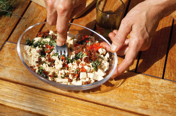 Tofu-Kräuteraufstrich