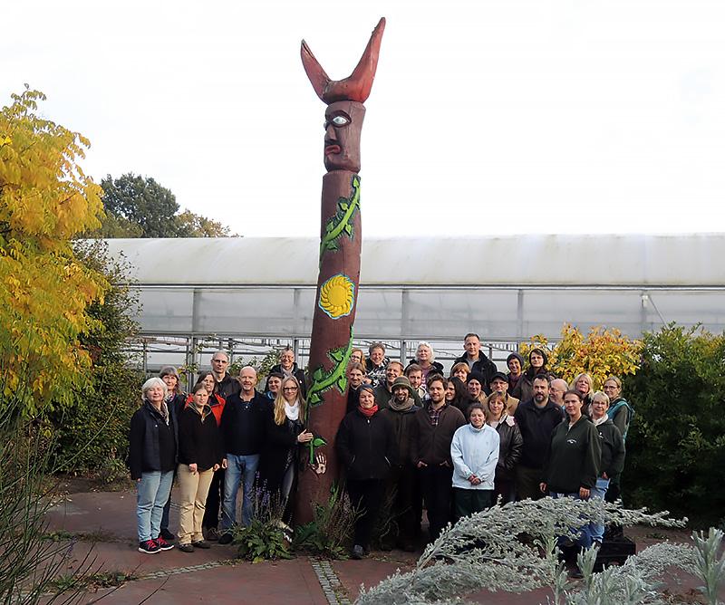 Das Gärtnerei-Team am 13. Oktober 2015